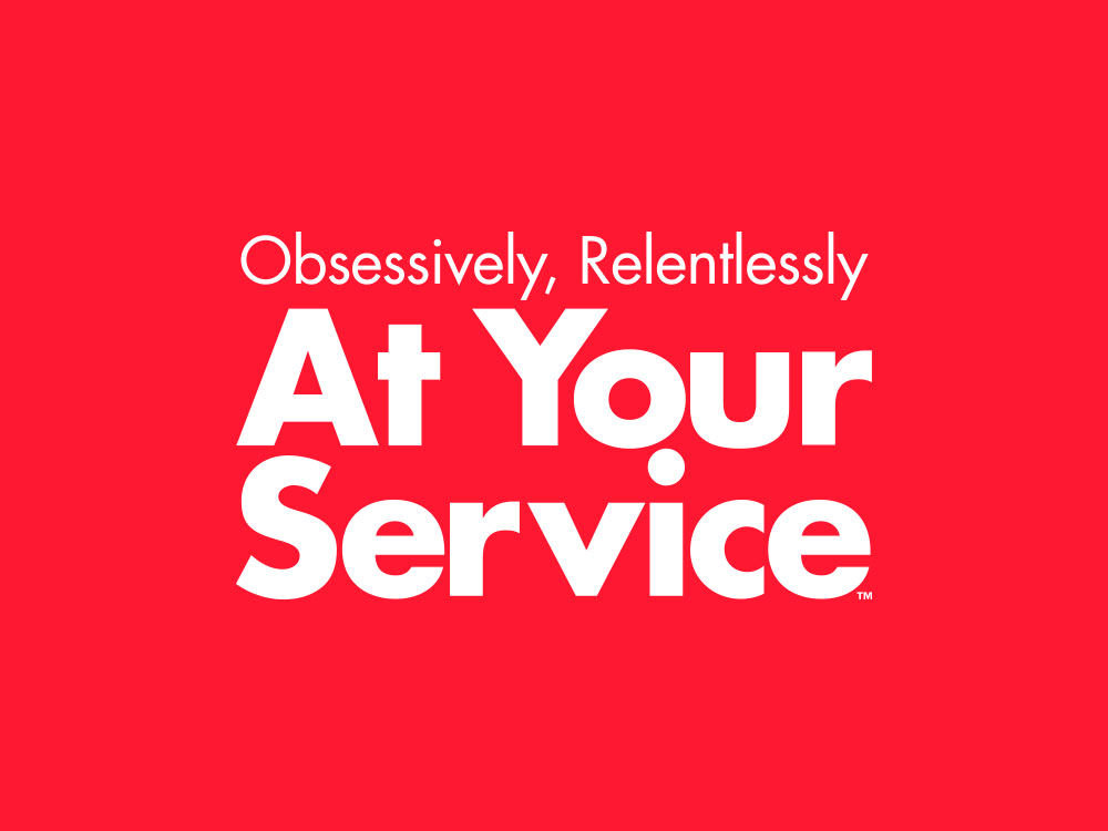 Obsessively, Relentlessly At Your Service