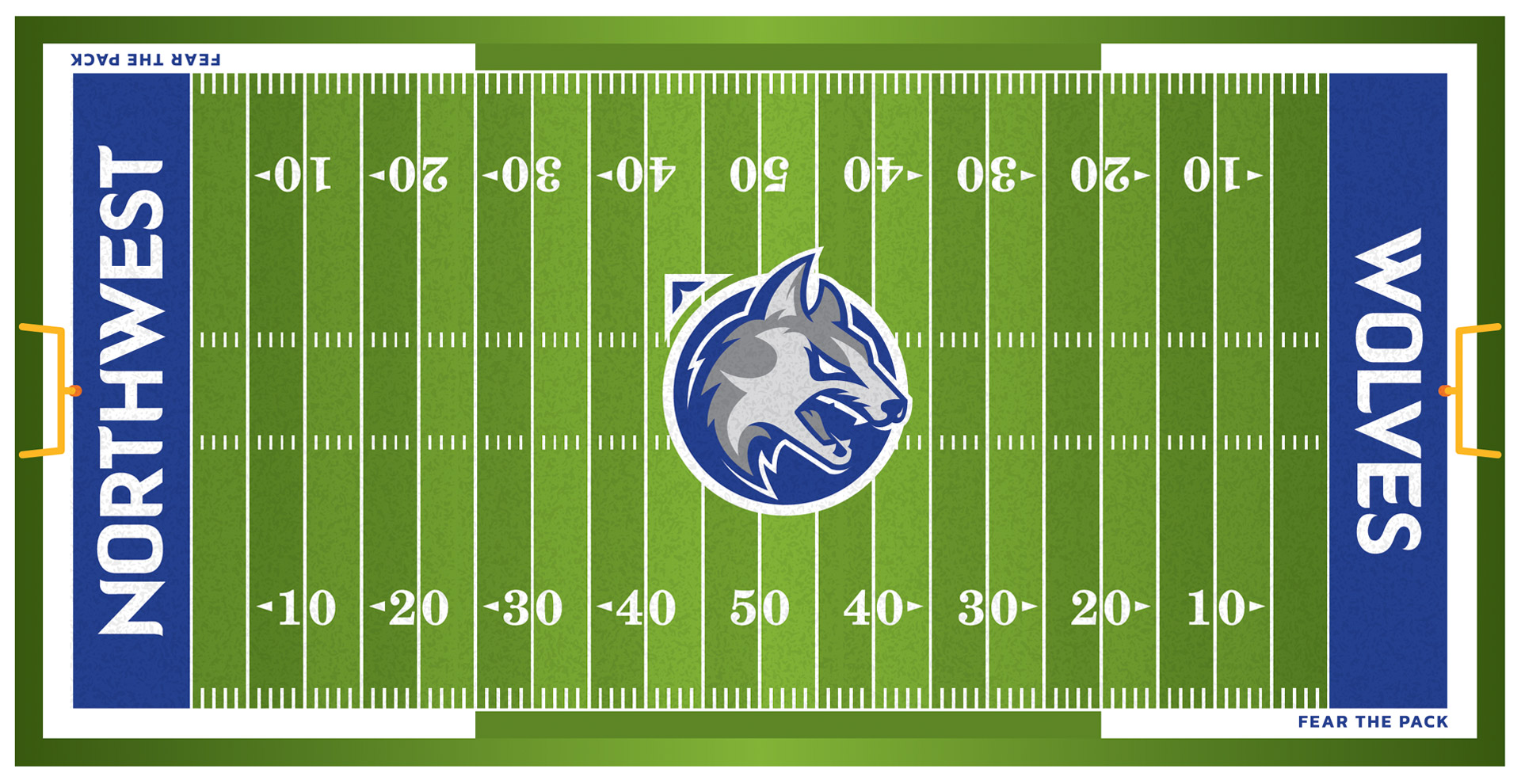 Waukee Northwest Wolves Football Field